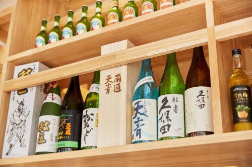 かどうちでは様々なお酒をお飲みいただけます